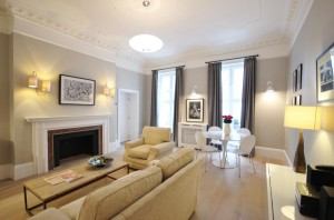 13 Hertford Street Living Room